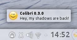 Colibri says hello