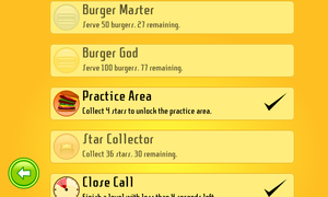 Burger Party also comes with achievements. Unlock them all!